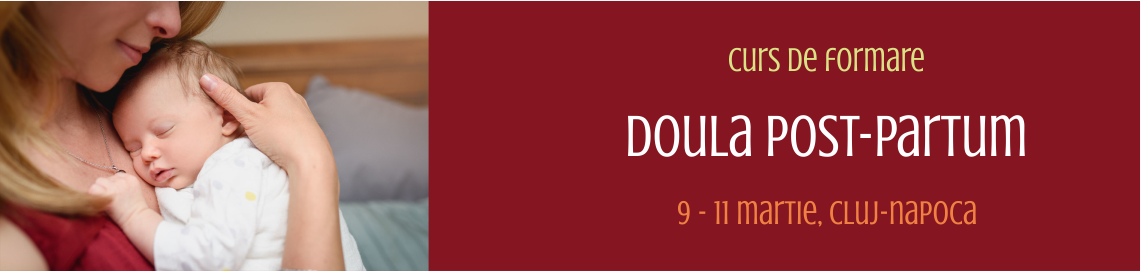curs de formare doula postpartum cluj 2018